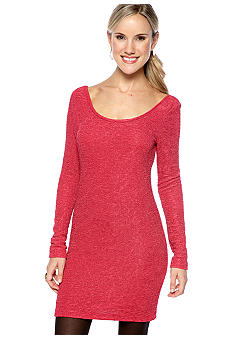 BCBGeneration Scoop Neck Knit Dress
