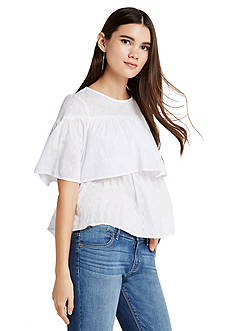 BCBGeneration Tiered Top