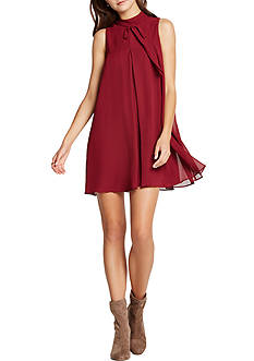 BCBGeneration Tie Neck Dress