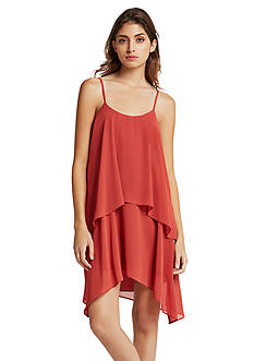 BCBGeneration Ruffle Swing Dress