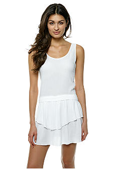 BCBGeneration Low Back Drop Waist Dress