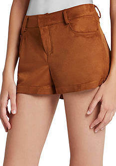 BCBGeneration Suede Shorts