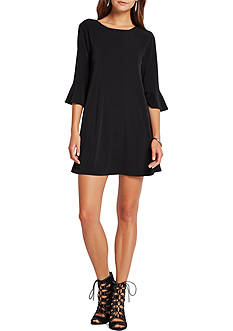 BCBGeneration Flare Sleeve Dress
