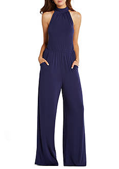 BCBGeneration Mock Neck Jumpsuit