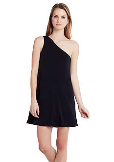 BCBGeneration One Shoulder A-Line Dress