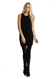 BCBGeneration Shirred Front Dress
