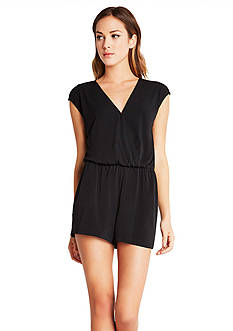 BCBGeneration Surplice V-Back Romper