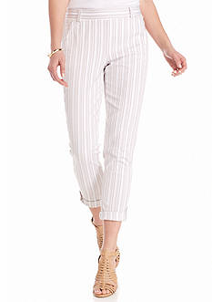 Splendid Striped Cuffed Pants
