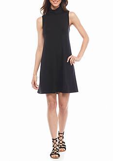 Splendid Sleeveless Turtleneck Dress