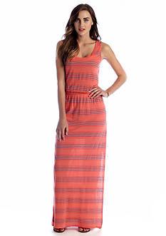 Splendid Stripe Maxi Dress