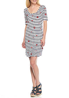 Splendid Americana Stars and Stripes Dress