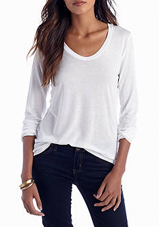 Splendid Scoop Neck Tee