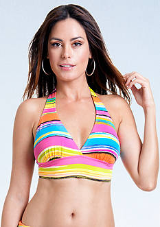 Anne Cole Signature® Painterly Stripe Halter