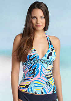 Anne Cole Signature® Hawaiian Print Halterkini