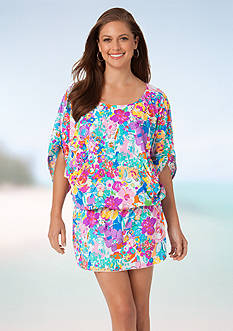 Anne Cole Signature Buds Caftan Cover Up
