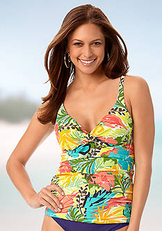 Anne Cole Signature Island Time Cup Sized Tankini