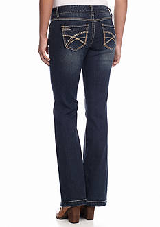 Red Camel Flare Leg Jean