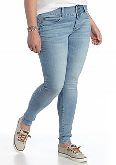 Red Camel Plus Size Wide Waist Jeggings