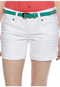 Red Camel Jean Short White