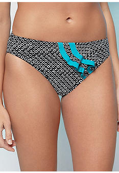 New Directions Tiki Diamond Ruffle Hipster