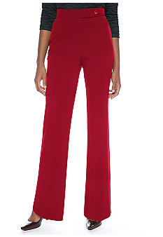 Kim Rogers® Bistretch Extend Tab Pant with Catseye Pockets