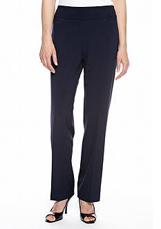 Kim Rogers Flat Front Pull-On Pant