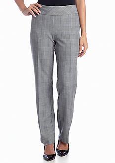 Kim Rogers® Menswear Pull-On Plaid Pant