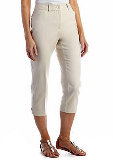 Kim Rogers® Comfort Back Tummy Control Crop Pant