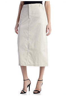 Kim Rogers Long Twill Skirt