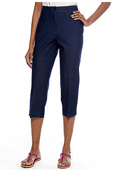 Kim Rogers L-Pocket Denim Capri