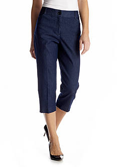 Kim Rogers® Cats Eye Jean Capri