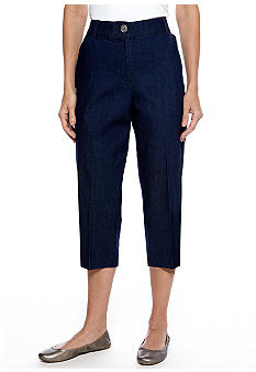 Kim Rogers Cat Eye Denim Capri