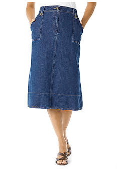 Kim Rogers Porkchop Pocket Skirt