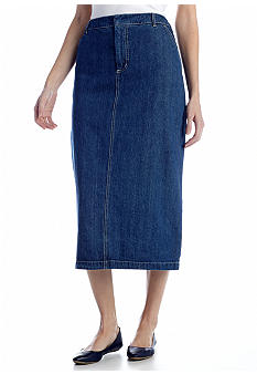 Kim Rogers Long Denim Skirt
