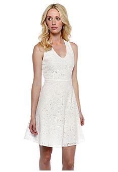Threads 4 Thought Abby Eyelet V-Neck Dress