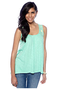 Threads 4 Thought Britta Embroidered Tank