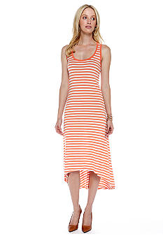 Threads 4 Thought Tia Stripe Racerback Hi Lo Dress