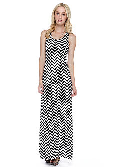 Threads 4 Thought Paula Chevron Maxi Dress