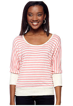 Living Doll Stripe Knit Dolman