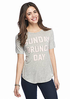 Living Doll 'Sunday Brunch Day' Graphic Tee