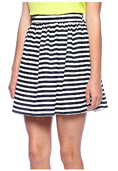 Living Doll Stripe Printed Circle Skirt