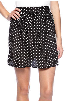 Living Doll Polka Dot Printed Circle Skirt