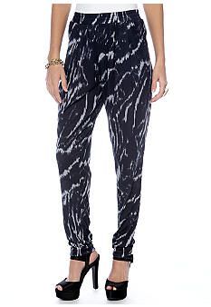 Soft Knit Printed Pant