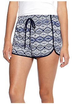 Living Doll Tribal Printed Dolphin Shorts