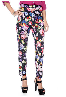 Living Doll Floral Ankle Pant