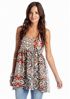 Living Doll Large Paisley Baby Doll Tank