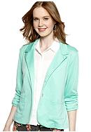 Living Doll One Button Shrunken Blazer