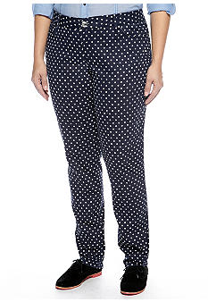 Zana-Di Jeans Plus Size Dot Skinny Denim