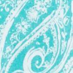 Petite Blouses: Rural Turq/Aqua Kim Rogers Petite Printed Woven Top