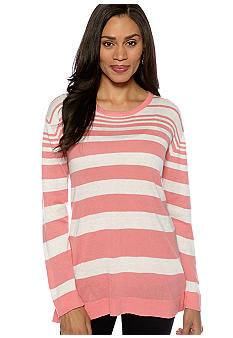 Madison Striped Pullover Sweater